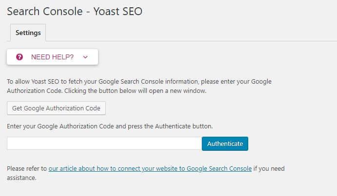 search console yoast seo tutorial