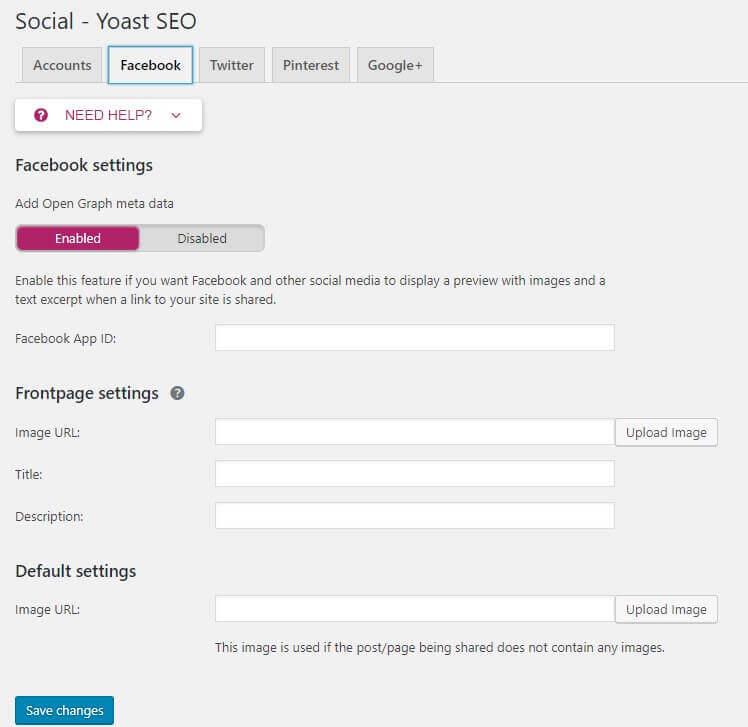 tab facebook - tutorial opengraph facebook yoast