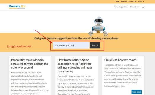 panduan mencari referensi nama domain