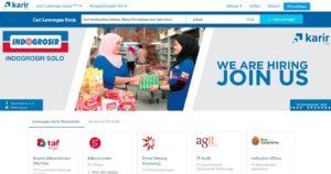 cari kerja online karir dot com