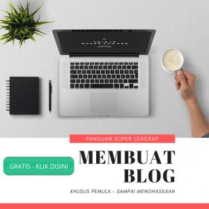panduan lengkap membuat blog untuk pemula