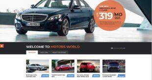 wordpress theme terbaik untuk bengkel mobil dan dealer