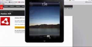 Adobe AIR ios emulator