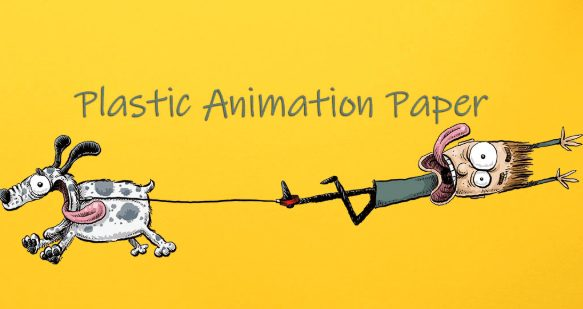 Plastic Animation Paper