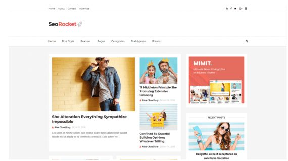 seorocket blogger template