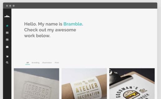 bramble wordpress theme