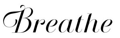 Jenis font cocok untuk desain undangan pernikahan - Breathe