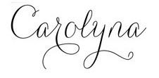 Jenis font cocok untuk desain undangan pernikahan - Carolyna