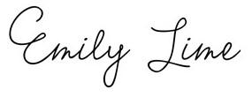 Jenis font cocok untuk desain undangan pernikahan - Emily Lime