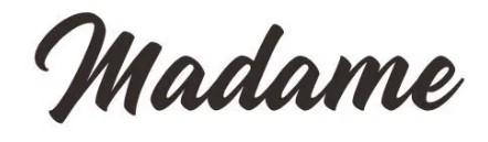 Jenis font cocok untuk desain undangan pernikahan - Madame