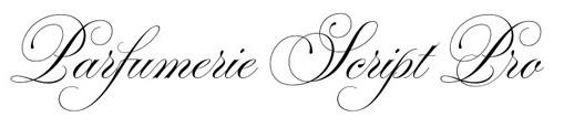 Jenis font cocok untuk desain undangan pernikahan - Parfumerie Script Pro
